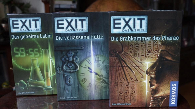 EXIT – DAS SPIEL FÜR GEMEINSAME ESCAPE ROOM ABENDE